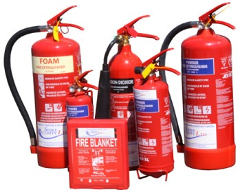 Fire Extinguishers and Blankets