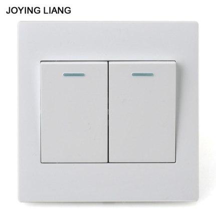 Two Gang Rocker Light Switch