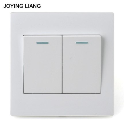 Two Gang Rocker Light Switch