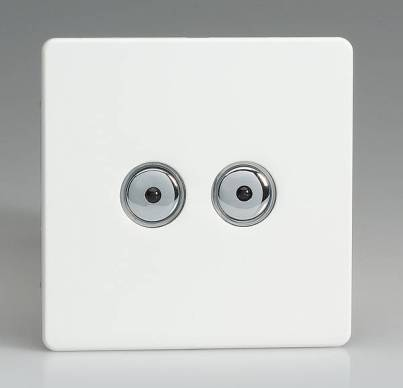 Two Gang Touch Dimmer Switch